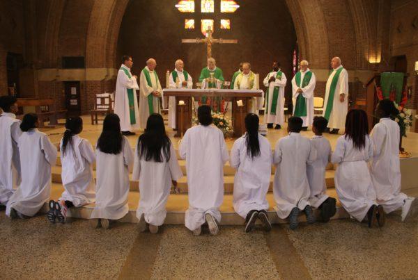 Messe d'Installation à La Courneuve