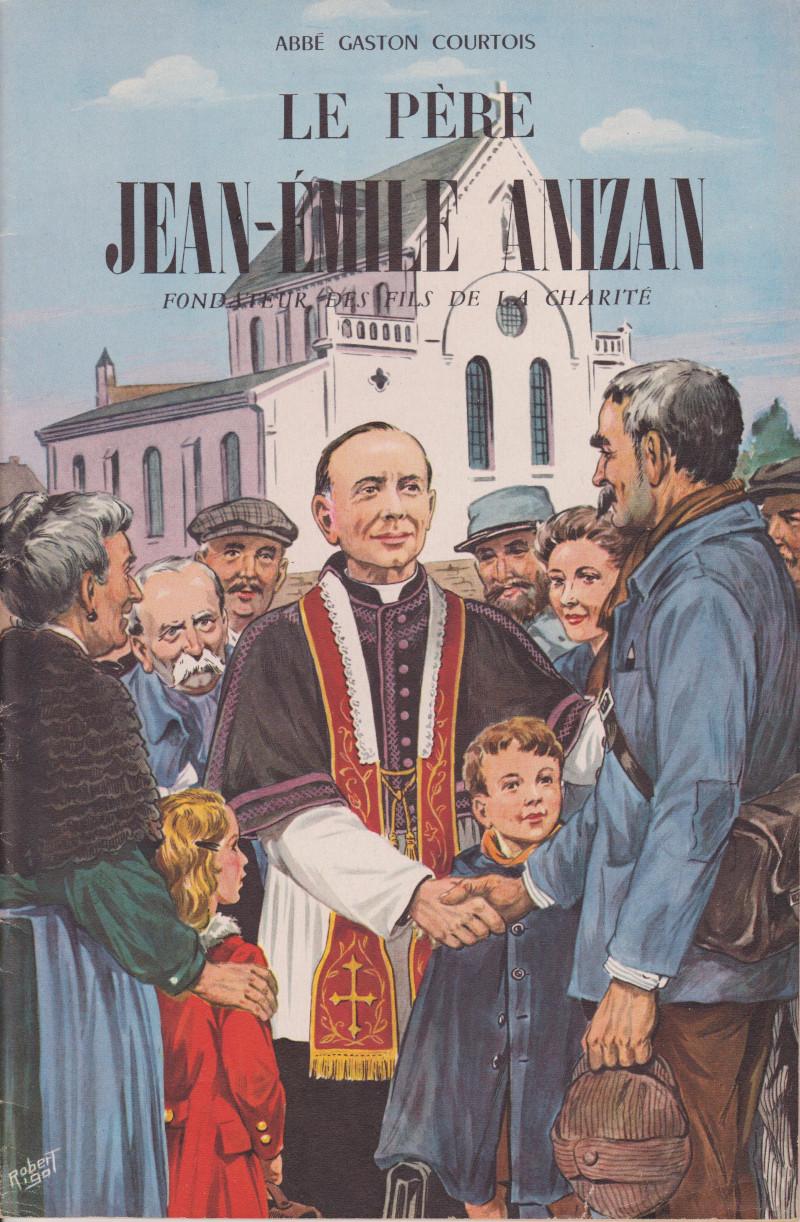 Couverture de la BD écrite par le Père Gaston Courtois et dessinée par Robert Rigot. Publiée aux éditions Fleurus en 1952