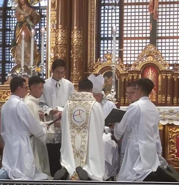 Ordination sacerdotale chez les FC 23/11/2019