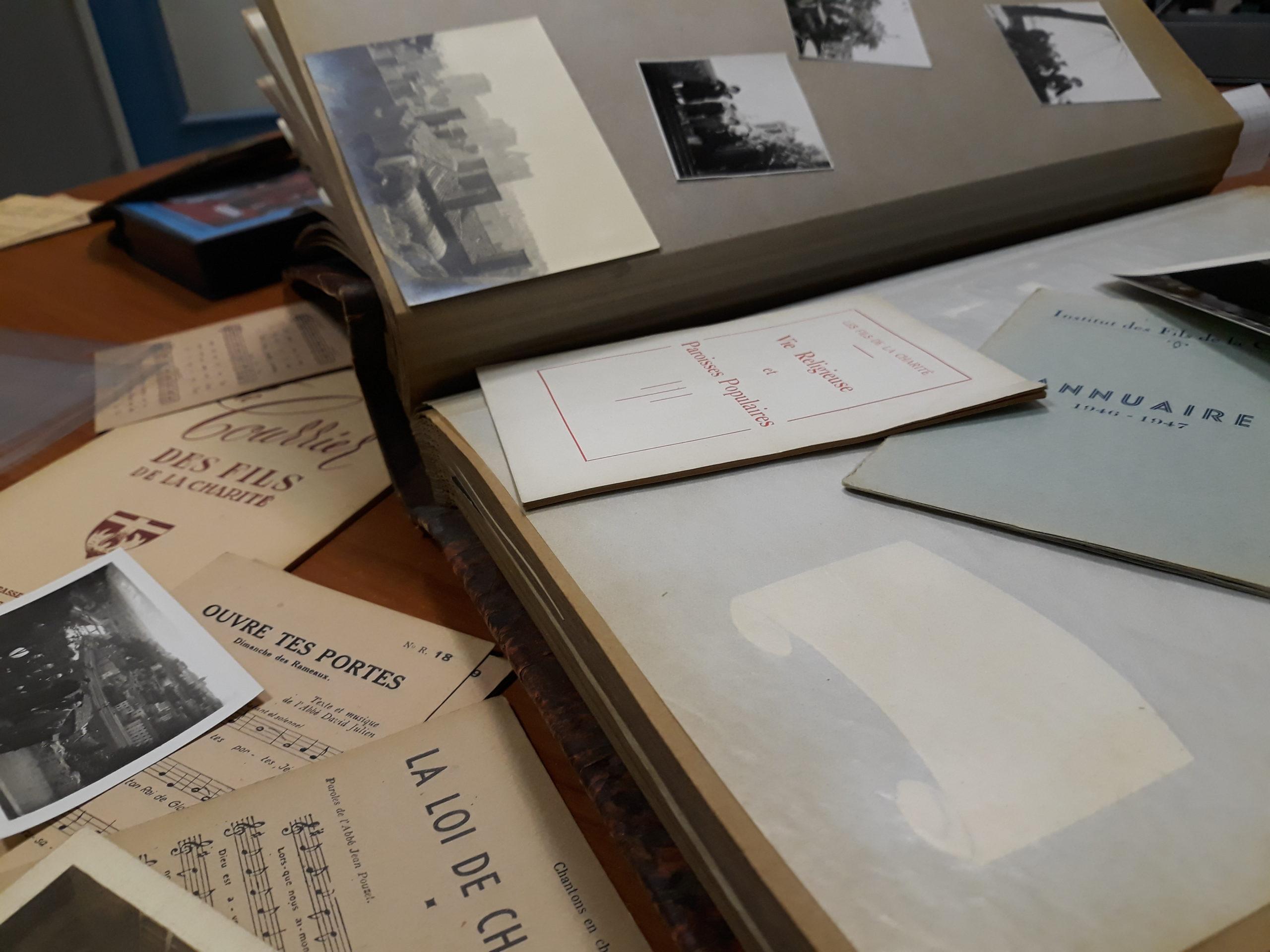 Service d'archives
