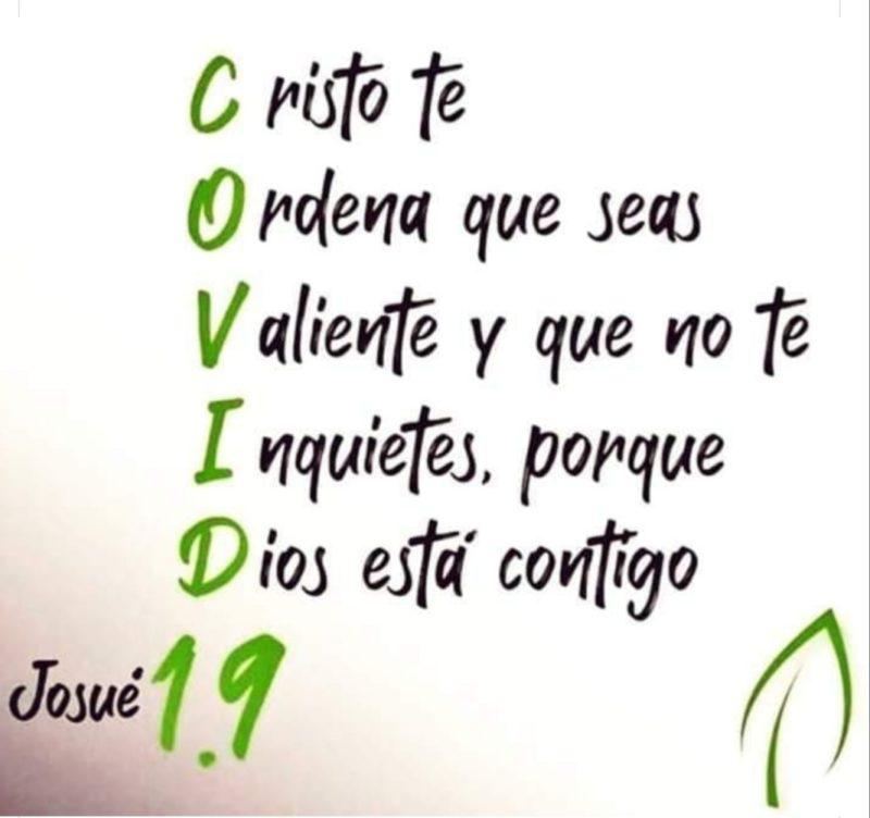 Josué 1.9 COVID