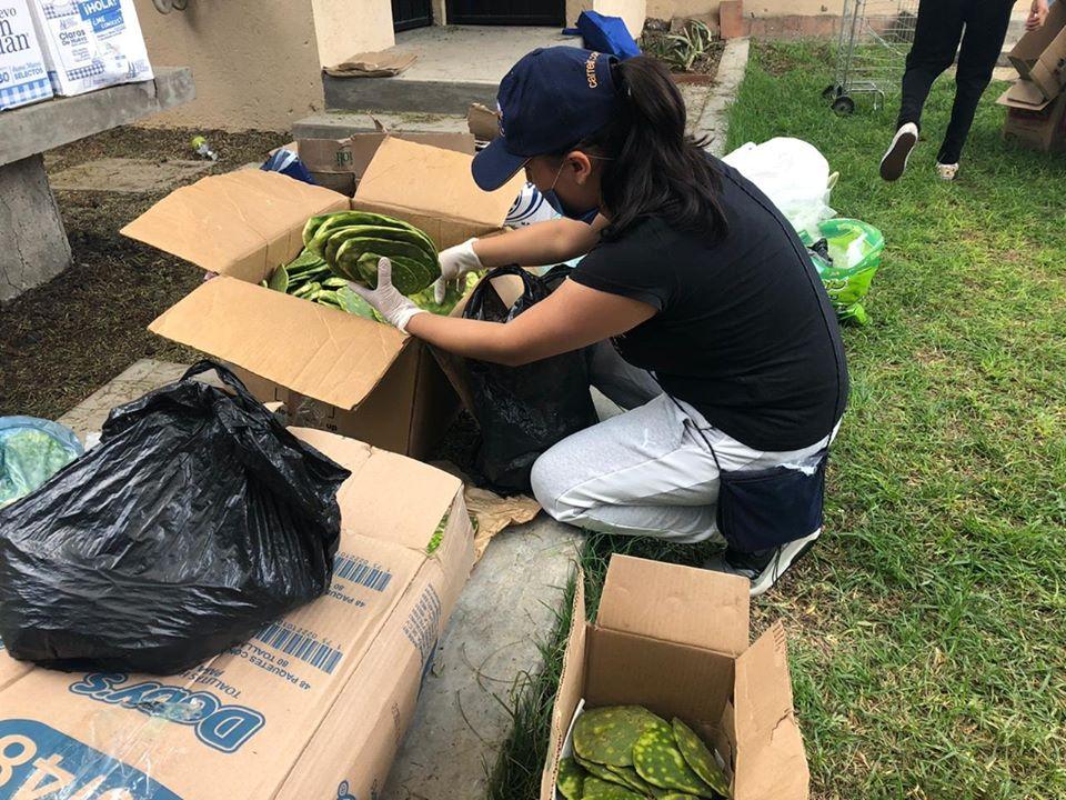 Covid-19 : l'Eglise de Mexico distribue des denrées pour les Rameaux