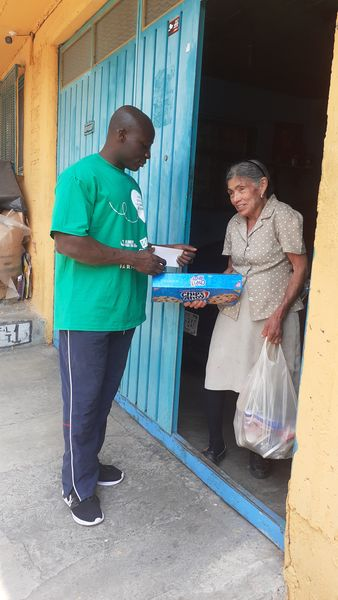 Mexique : Solidarité alimentaire suite au Covid-19, 18 avril 2020