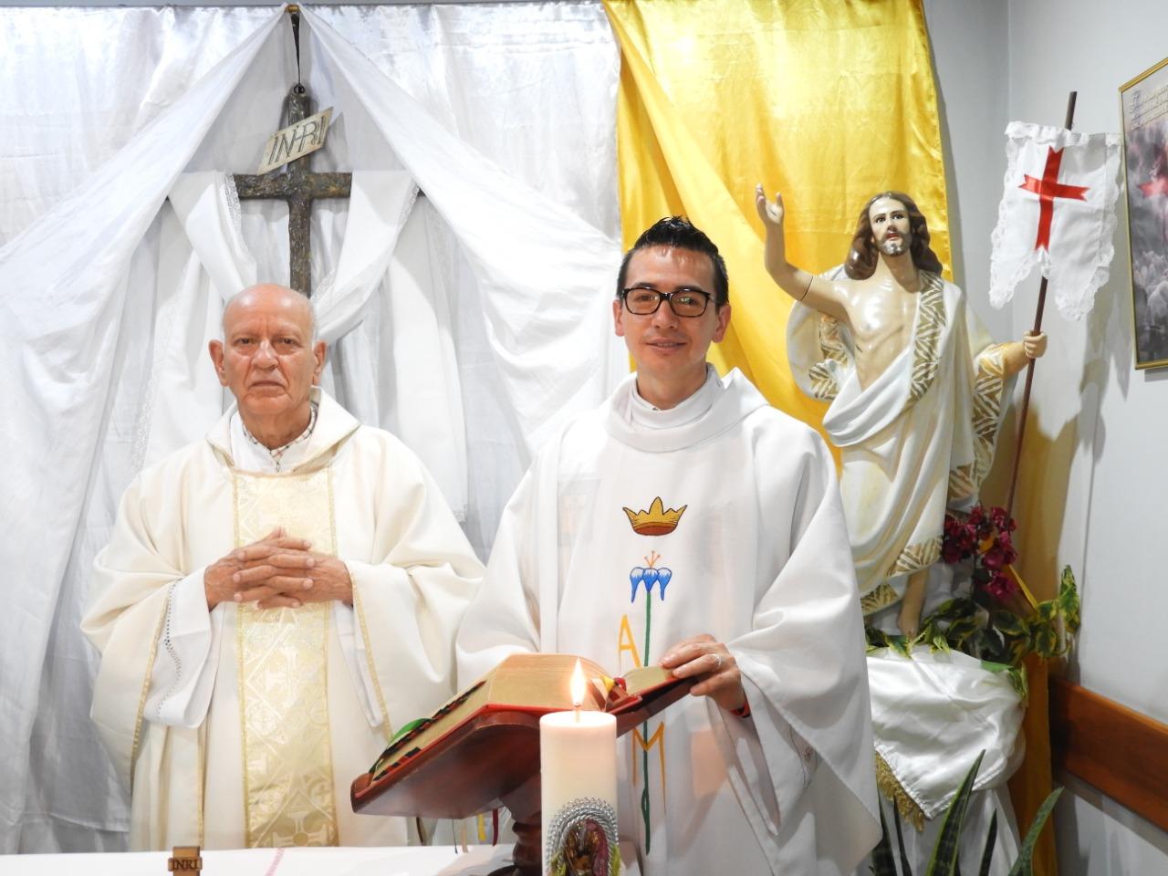 Célébration de Pâques 2020 en Colombie