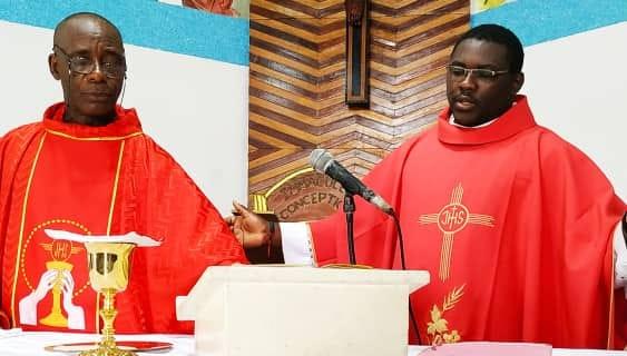 Confinement la Paroisse de l'Immaculée Conception d'Abobo à Abidjan