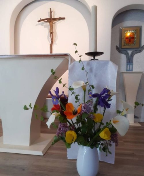 Pâques 2020 à La Cité Saint Pierre de Lourdes