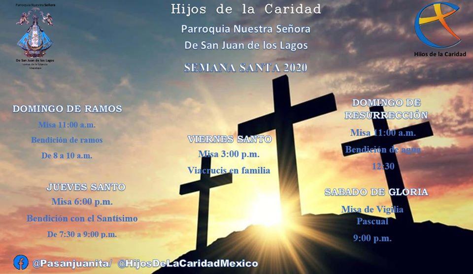 Affiche Semaine Sainte 2020 Mexique