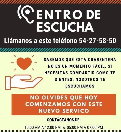 Ecoute téléphonique par des religieux et religieuses pour soutenir durant le covid-19 au Mexique