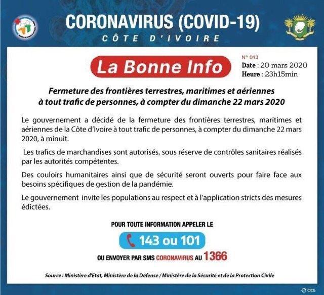 Covid-19 Côte d'Ivoire