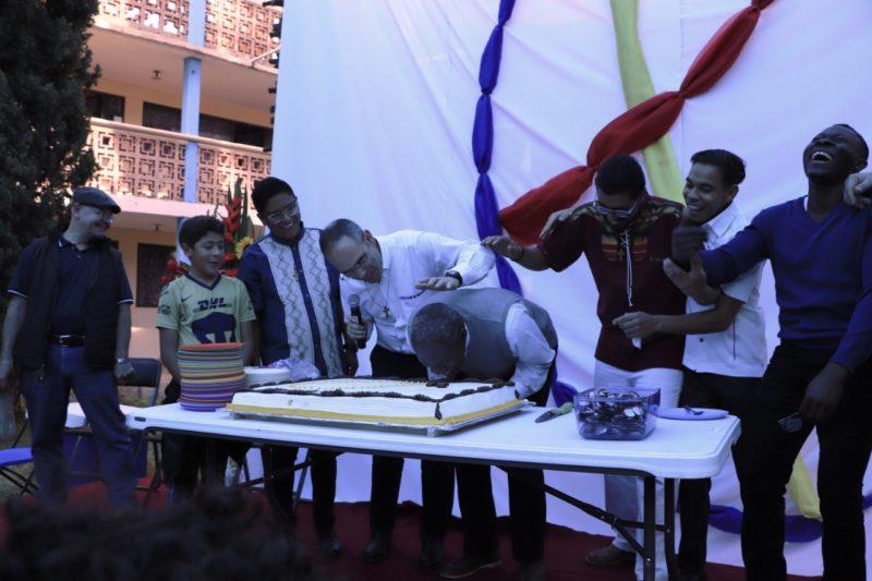 Jour de fête et de célébration de 4 voeux religieux au Mexique - 11 janvier 2020 crédit Abel Rodriguez fc