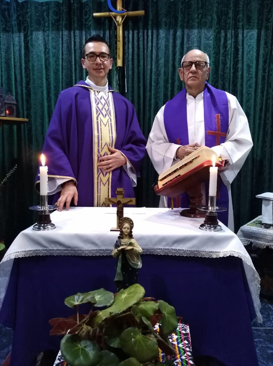 Martirián Marbán y Pedro Barón, 26 mars 2020