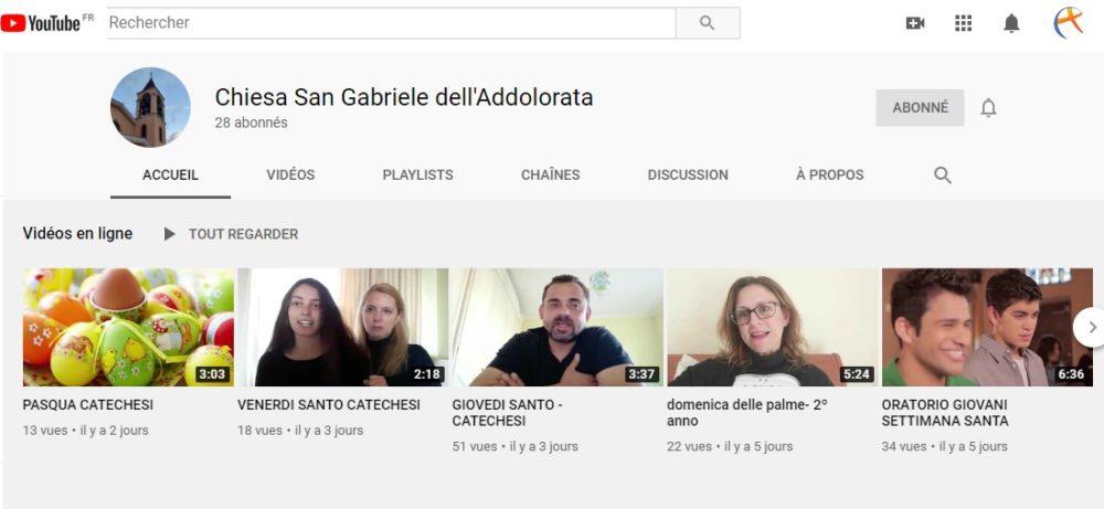 Chaîne Youtube Riano