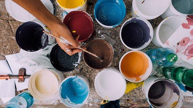 Pots de peinture par Pixabays