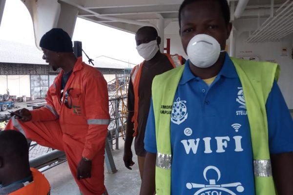 Célestin ikomba Côte d'Ivoire : L'Apostolat de la mer et des migrants & Covid-19