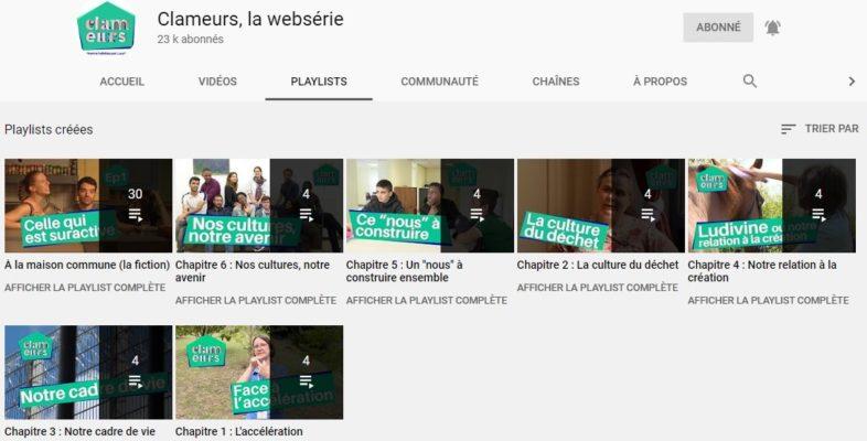 Les clameurs chaîne Youtube Laudato si