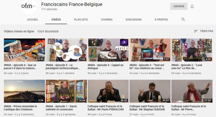 Les Franciscains Chaîne Youtube
