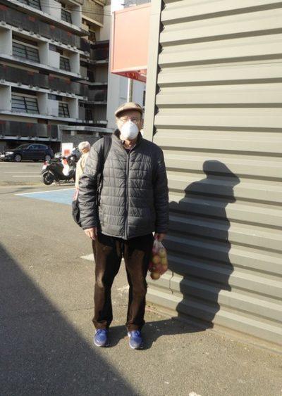 Le port du masque pour éviter la contagion de JF Courtille