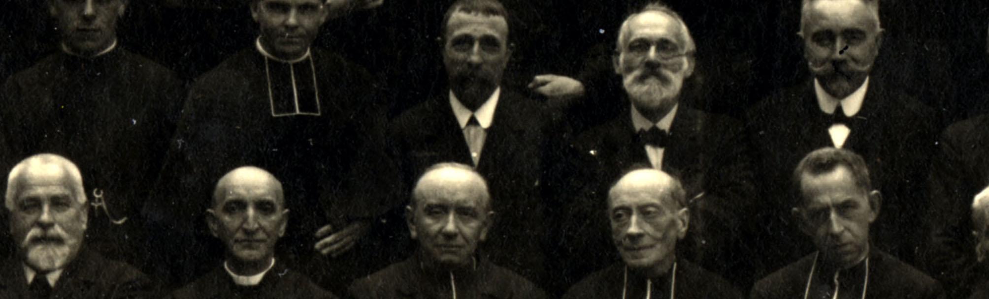Les débuts des Fils de la Charité (1/2). Premiers prêtres et frères (1918-1920)